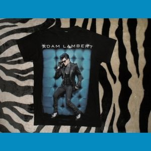 Adam Lambert Music T-Shirt American Idol
